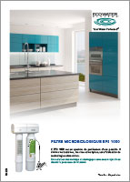 Filtre microbiologique EPS 1000 Ecowater Systems